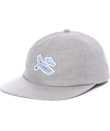 Benny Gold Glider Oxford Grey Strapback Hat
