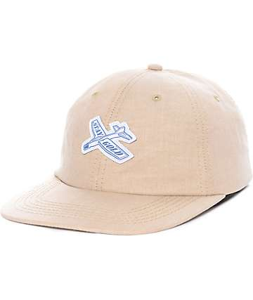 Benny Gold Glider Oxford Tan Strapback Hat