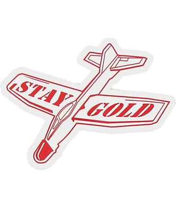 Benny Gold Glider Sticker