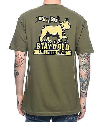 Benny Gold Levi Of Judah Green T-Shirt