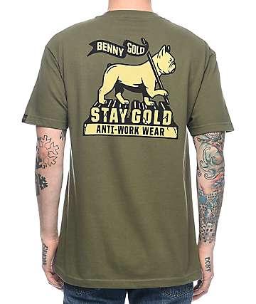 Benny Gold Levi Of Judah camiseta verde