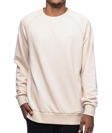 Benny Gold Premium Cream Crew Neck Sweatshirt