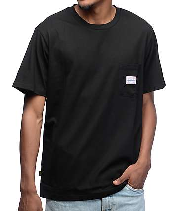 Benny Gold Premium Pocket Black T-Shirt