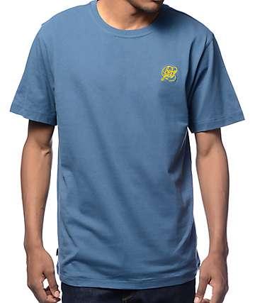 Benny Gold Premium Script Logo Navy T-Shirt