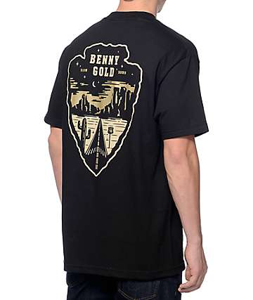 Benny Gold Road Trip Black Pocket T-Shirt