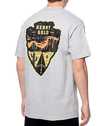 Benny Gold Road Trip Grey Pocket T-Shirt