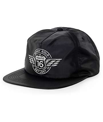 Benny Gold Route 16 Black Snapback Hat