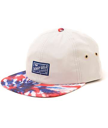 Benny Gold Tie Dye 6 Panel Hat