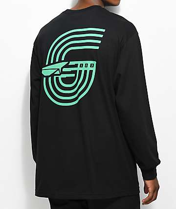 Benny Gold Track Black Long Sleeve T-Shirt