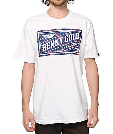 Benny Gold Tropics Stamp T-Shirt