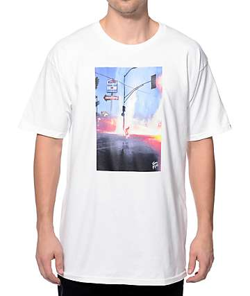 Benny Gold Urban Hot Spring White T-Shirt