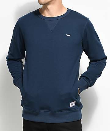 Benny Gold Warm Up Navy Crewneck Sweatshirt