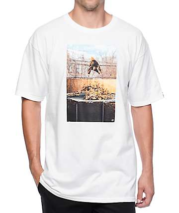 Benny Gold Yardwork Photo White T-Shirt