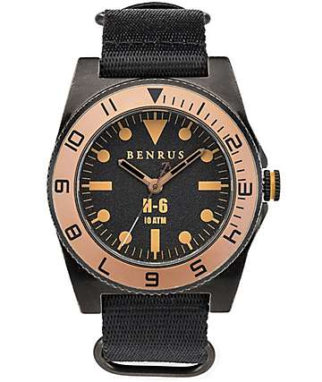 Benrus H-6 Analog Watch