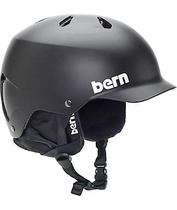 Bern Watts EPS Audio Black Snowboard Helmet