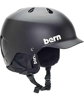 Bern Watts EPS Audio casco de snowboard negro