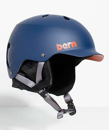 Bern Watts EPS Navy Snowboard Helmet