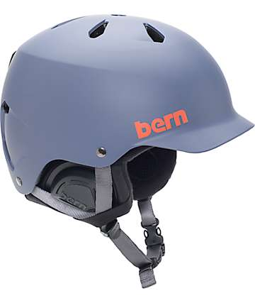 Bern Watts EPS casco de snowboard azul marino