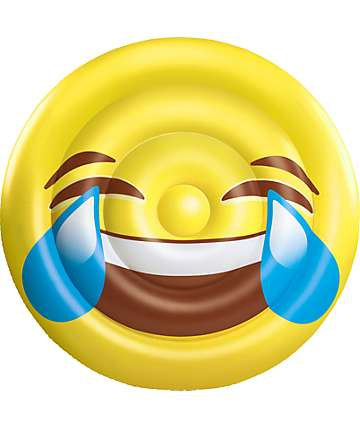 Big Mouth Inc Joy Emoji Pool Float