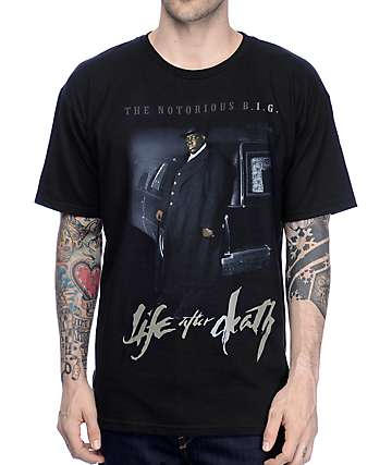 Biggie Life After Death Black T-Shirt