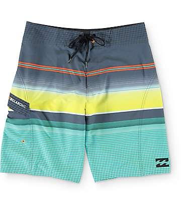 """Billabong All Day X Mint Stripe 21""""  Board Shorts"""