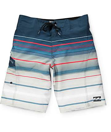 "Billabong All Day X Stripe 21"" Board Shorts"