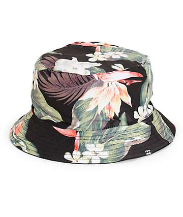 Billabong Aloha Floral Reversible Bucket Hat