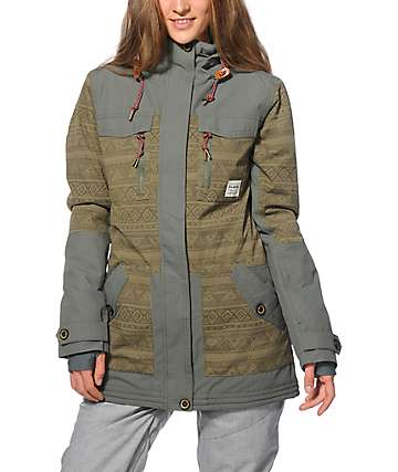 Billabong Callahan Army 10K Snowboard Jacket