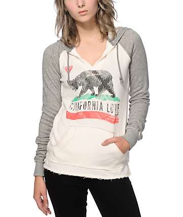 Billabong Days Off Bear Hoodie