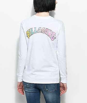 Billabong Heritage Spirit camiseta blanca de manga larga