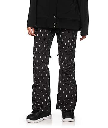 Billabong Iris Black Print 10K Snowboard Pants