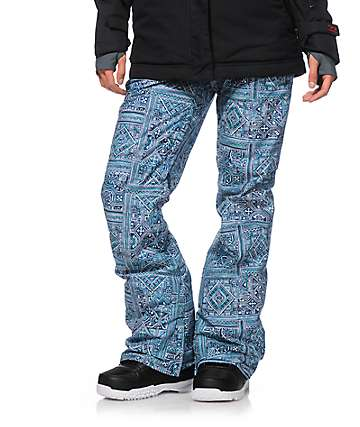 Billabong Iris Tile Print 10K Snowboard Pants