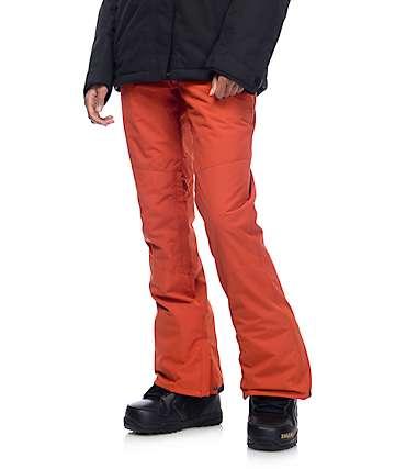 Billabong Malla 10k pantalones de snowboard en rojo