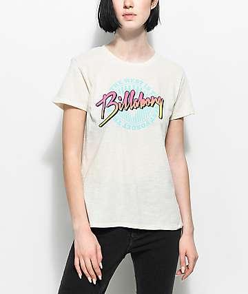 Billabong West Is Best camiseta blanca