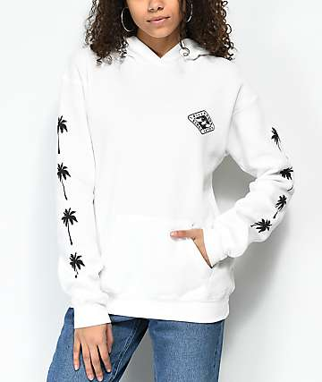 Billabong Windy Palms White Hoodie