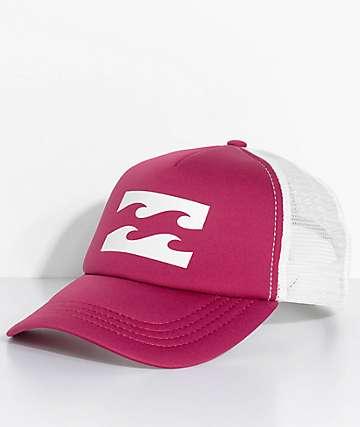 Billabong gorra snapback rosa