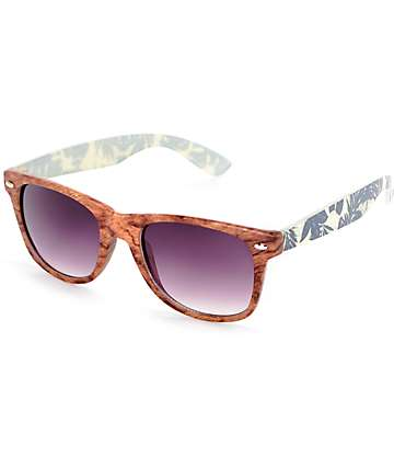 Birch & Indigo Palm Classic Sunglasses