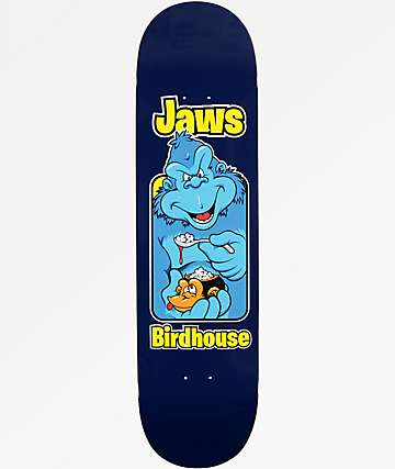 "Birdhouse Jaws Old School 8.25"" Skateboard Deck"