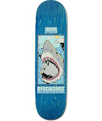 "Birdhouse Jaws Shark 8.25"" Skateboard Deck"