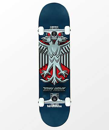 "Birdhouse Tony Hawk Shield 8.0"" Skateboard Complete"