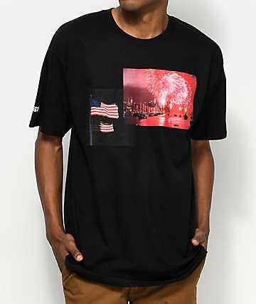 Black Scale Capitalism Black T-Shirt