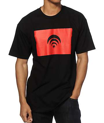 Black Scale Connect Graphic T-Shirt