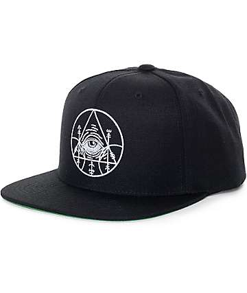 Black Scale Dooms of Malentay Black Snapback Hat