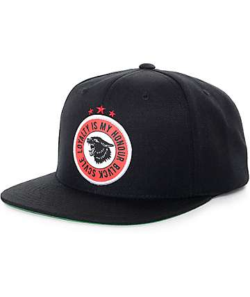 Black Scale Havoc Black Snapback Hat