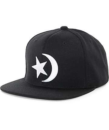 Black Scale Prophets Sigil Black Snapback Hat
