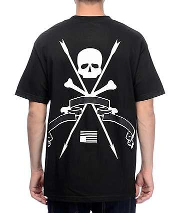 Black Scale Resistance Black T-Shirt
