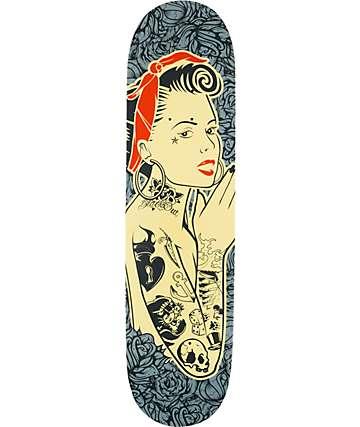 "Blackout Always Girl 8.25"" tabla de skate"