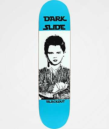"Blackout Dark Slide 7.75"" Skateboard Deck"