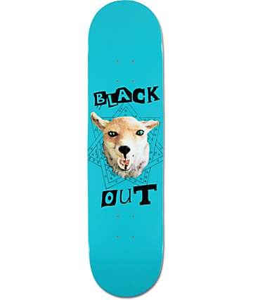 """Blackout Demon Dog 8.0""""  Skateboard Deck"""
