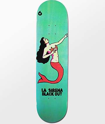 """Blackout La Sirena 8.0"""" tabla de skate"""